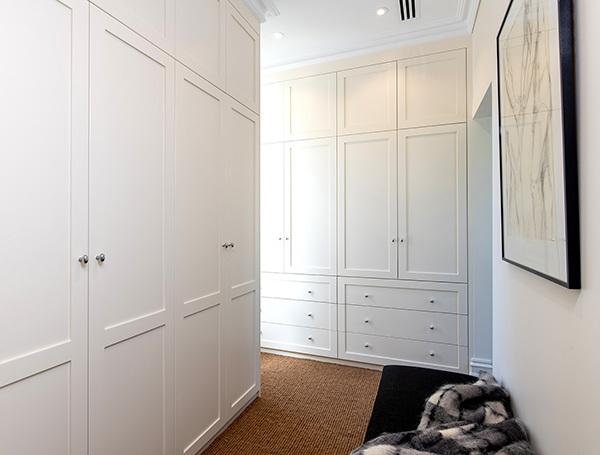 Hinged built in wardrobe boston Hero