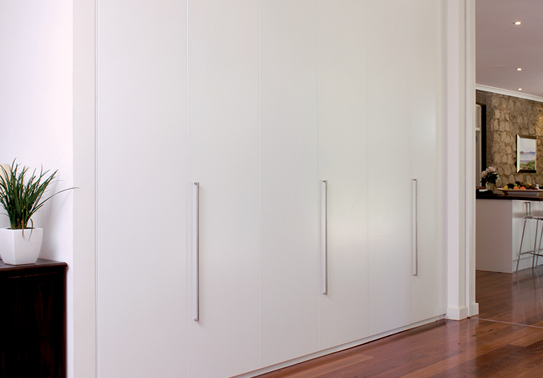 'Sorrento' - an elegant yet practical built-in hinged door wardrobes to suit any space